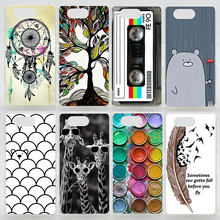 Case For Sony Xperia Z3 Compact Z5 Compact Colorful Printing Drawing Plastic Cover for Sony Z3 Mini Hard Phone Cases