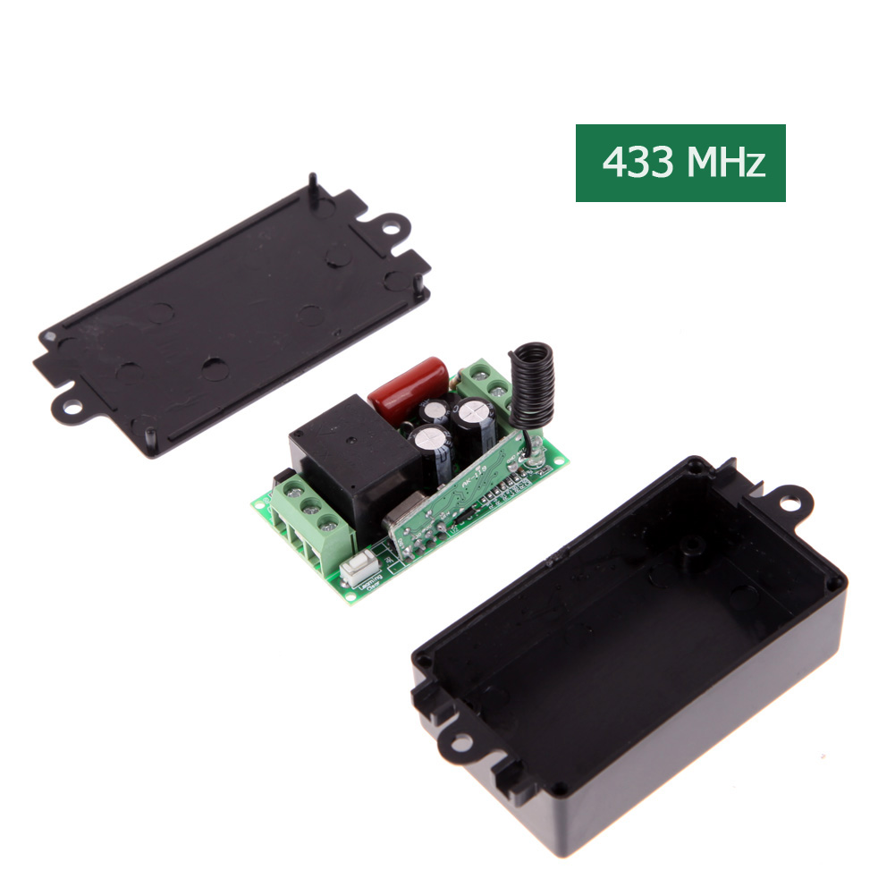 Practical AK-RK01S-220-A AC 220V 1CH 433MHz Wireless Remote Control Switch Free Shipping NI5L(China (Mainland))