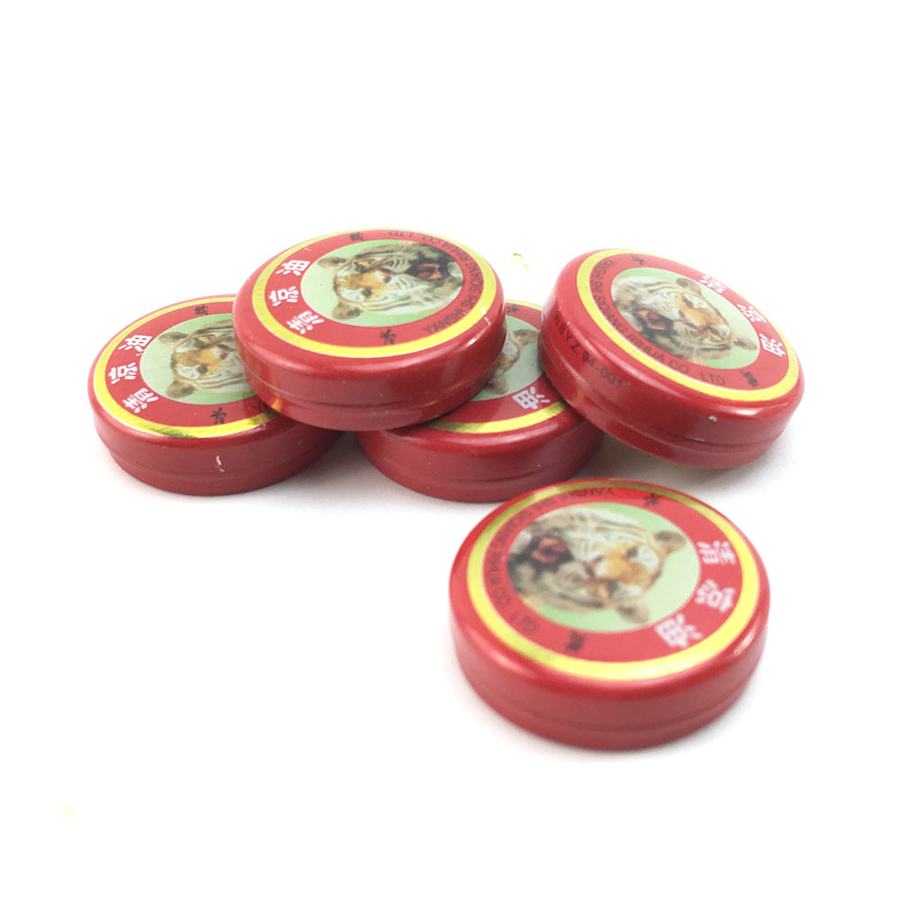 5pcs Chinese Tiger Balm Red Refresh Oneself Treatment Of Influenza Cold Headache Dizziness Muscle Massager Relax Essential Oil