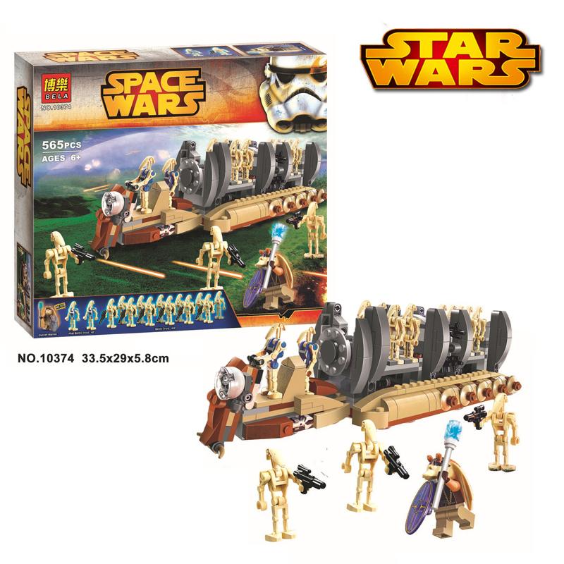 2015 New Bela 10374 Star Wars Battle Droid Troop Carrier Minifigures Building Blocks Model Bricks Education Toy Compatible Legao<br><br>Aliexpress