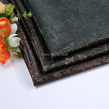 2016 new PVC leather fabric, leather, leather material, diy handmade Soft , vegetable tanned leather, Egypt pattern(China (Mainland))