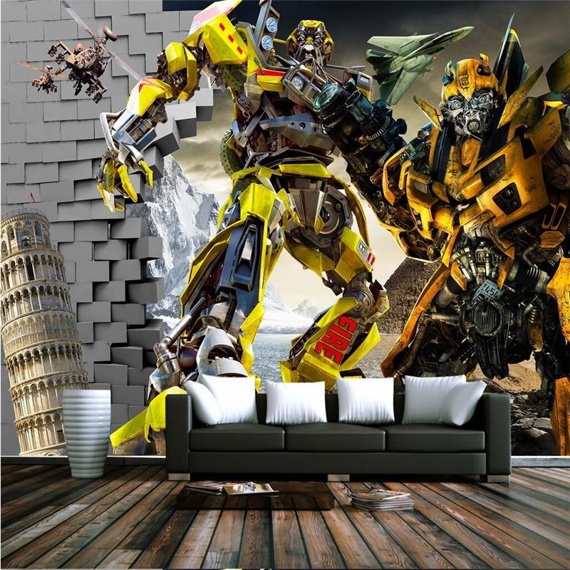transformers wall murals reviews online shopping 3d optimus prime wallpaper transformers photo wallpaper