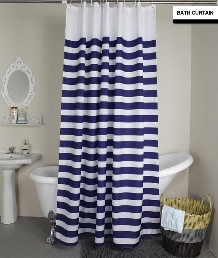 Compra le bain cortina de ducha online al por mayor de - Cortinas de tela modernas ...
