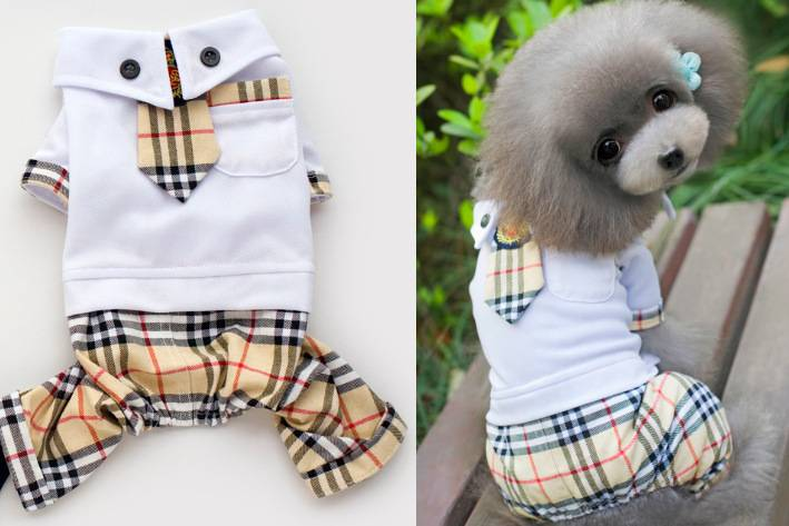 Pets Uniform Pants Legs Dog Clothes Pet Clothes Pe...