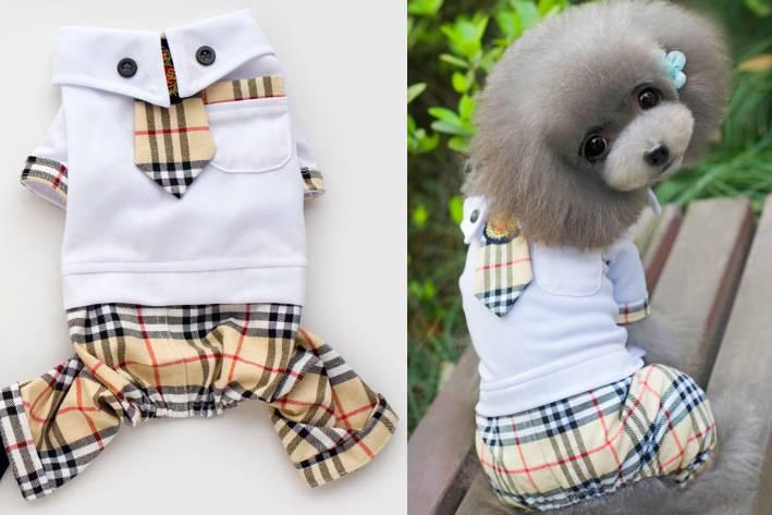 Pets Uniform Pants Legs Dog Clothes Pet Clothes Pe...