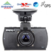 Free Ship Car DVRs Camera A7810G Pro Ambarella A7LA70 Car DVR 1296PCamcorder LDWS Video Recorder Optional