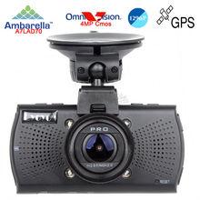 Free Ship!Car DVRs Camera A7810G Pro Ambarella A7LA70 Car DVR 1296PCamcorder LDWS Video Recorder Optional GPS Tracker Speedcam(China (Mainland))