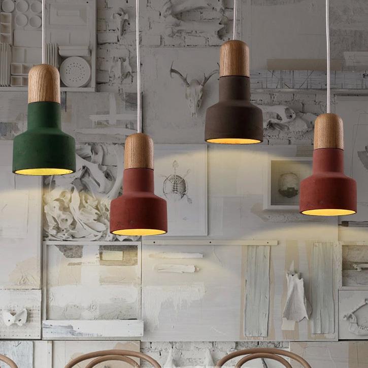 European Loft colorful pendant lights restaurant coffee cafes pub bar pendant lamp bedroom dining room kitchen foyer drop lights<br><br>Aliexpress