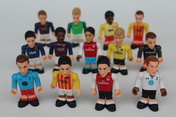 Football Toys For Boys : Pcs lot football star figure action toy cm assembly
