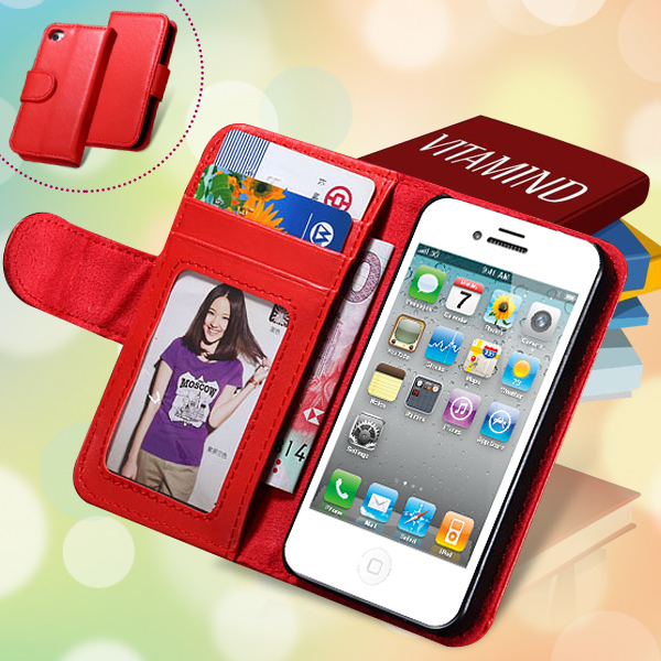 Fashion Flip Leather Case iphone 5 5S New Custom Photo Frame Stand Wallet Plain Phone Accessories & Parts Bag Cover 5s - RCD Technology store