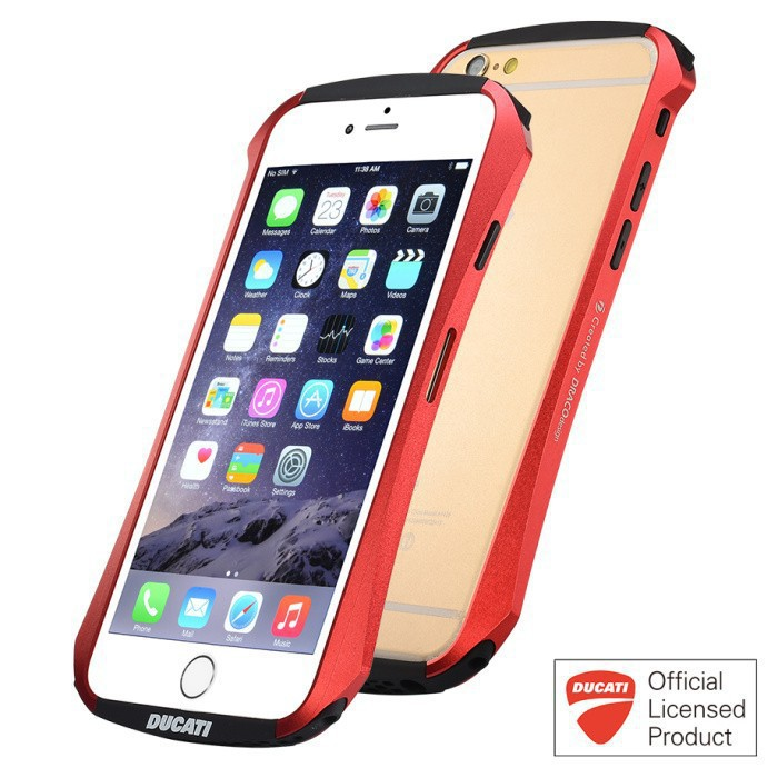 For iphone 6 4.7 inch for iPhone 6 Plus DRACO Ducati VENTARE CLEAVE Motorcycle Racing design Aviation Aluminum Bumper Metal Case(China (Mainland))