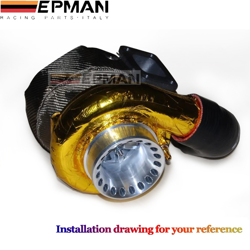 EPMAN 39 x 47 SELF ADHESIVE REFLECT A GOLD HEAT WRAP BARRIER FOR THERMAL RACING ENGINE