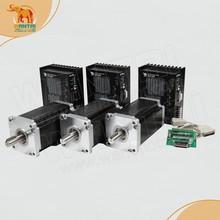 Cheap CNC! Wantai 3 Axis Nema 42 Stepper Motor 110BYGH150-001 3256oz-in+Driver DQ2722M  220V 7.0A 300Micro CNC Plasma Foam Cut