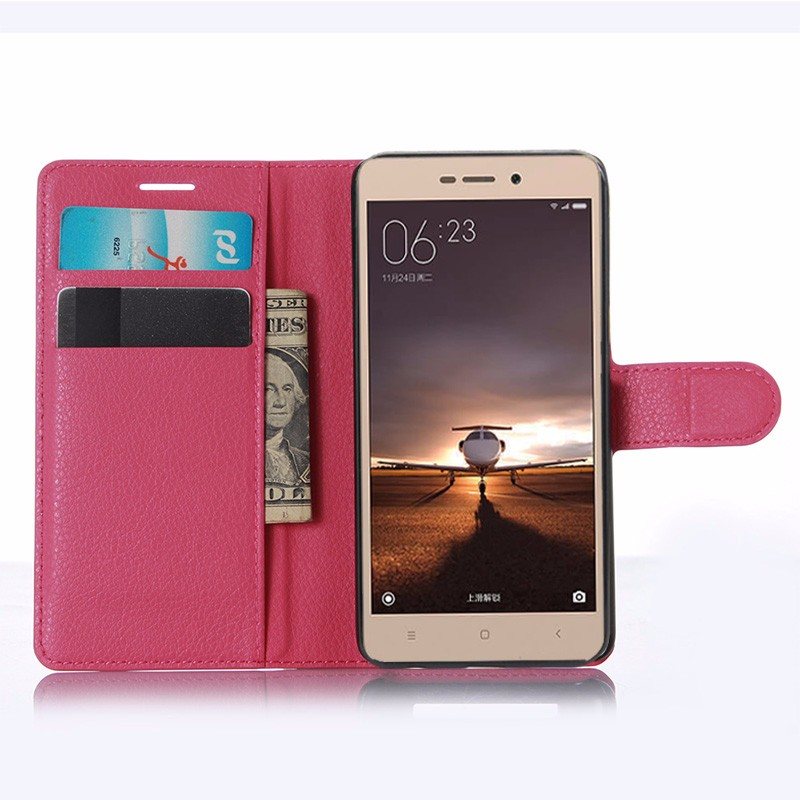 For Xiaomi Redmi 3 Pro Case 5.0 Wallet PU Leather Back Cover Case For Xiaomi Redmi 3 Redmi3 Pro Case Flip Protective Phone Bag (11)