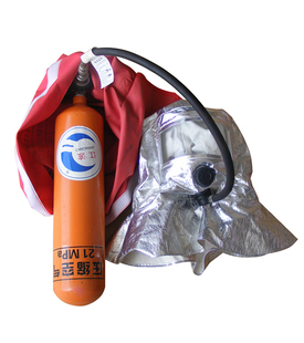 Long tube air breathing apparatus antimist smoke-proof carry