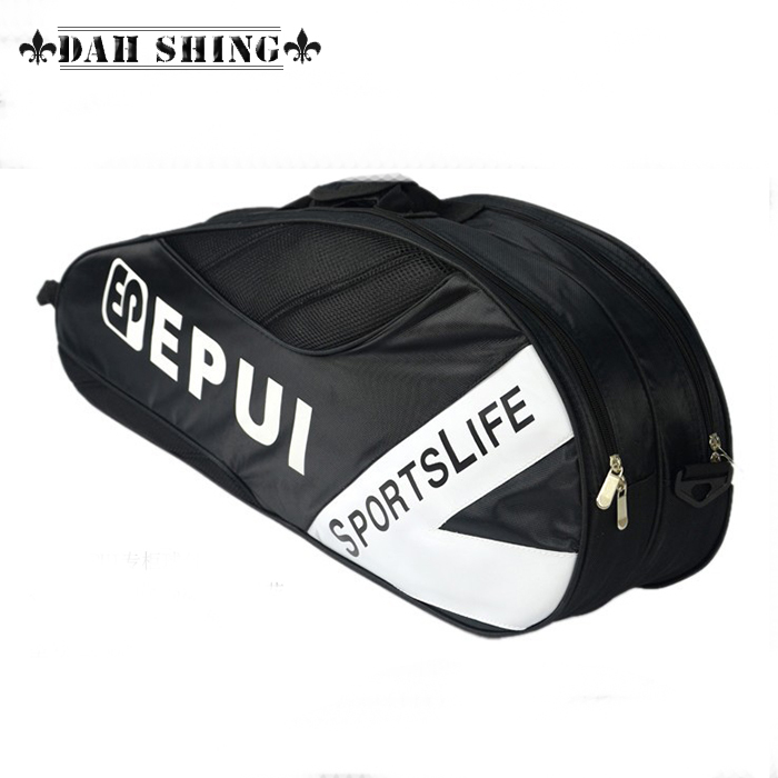3 colors Badminton tote bag Waterproof nylon gym bag sports duffle with zipper closure 71*29cm(China (Mainland))