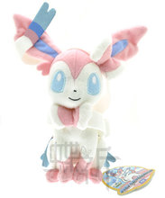 18cm Pokemon go Anime Plush Eevee Sylveon Soft Toys Pokemon go Doll Toy Stuffed Plush Classic Anime Wholesale Free Shipping