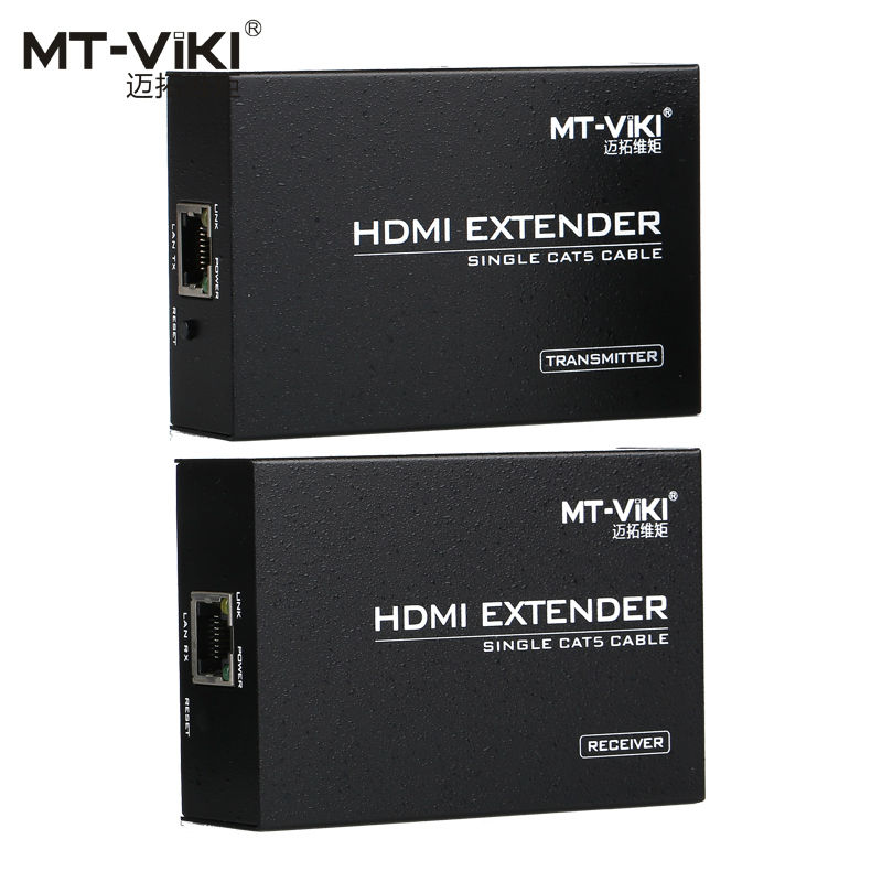 MT-VIKI 100m 330ft HDMI Long Distance Extender over CAT RJ45 LAN Cable 1.4 Extension Repeater MT-ED06(China (Mainland))