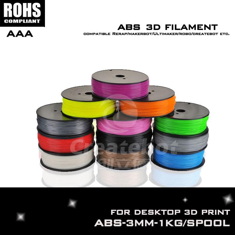 New gray 13 color 3d pen filament 3d printer filament abs filament 3mm pva filament such as Createbot ,Makerbot, RepRap,etc<br><br>Aliexpress