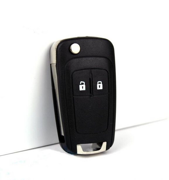 Wholesale High quality 2 Buttons Flip Remote Key 315MHz For Chevrolet with ID46 CHIP and HU100 Blade<br><br>Aliexpress