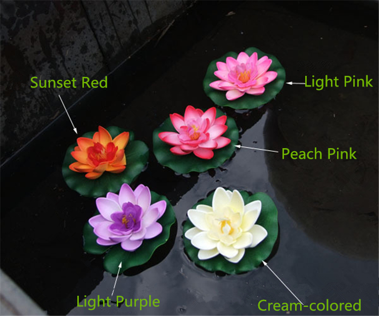 PU Life Like Fashion Artificial Flowers Silk Flower For Decoration Lotus Wholesales(China (Mainland))