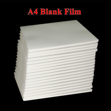 Free shipping 50pcs/lot Blank Water Transfer Printing Film for Inkjet printer,A4 size hydrographic film, decorative material(China (Mainland))