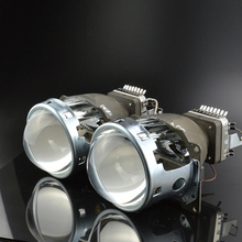 Buy GZTOPHID Car Retrofit Headlight Lens Kit Original Q5 Bi-xenon Projector Lens LHD Cnlight Xenon Straight Bulb D2H for $84.24 in AliExpress store
