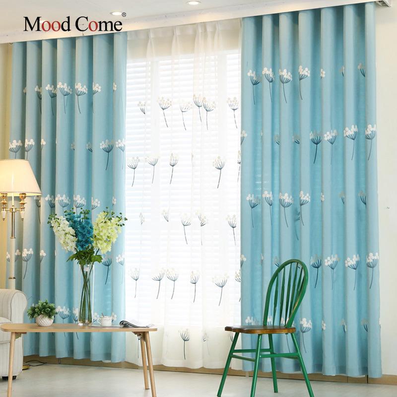 online kaufen gro handel kurz blau vorh nge aus china kurz blau vorh nge gro h ndler. Black Bedroom Furniture Sets. Home Design Ideas