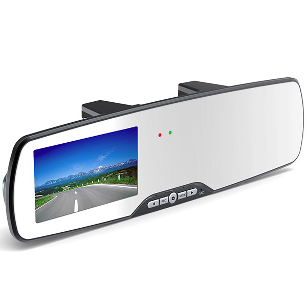 Full HD Car DVR LED Night Vision Rear View Mirror Dash Cam Video Recorder Car Camera(China (Mainland))