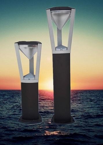 Газон Лампа водонепроницаемый открытый сад вилла свет лужайки алюминия