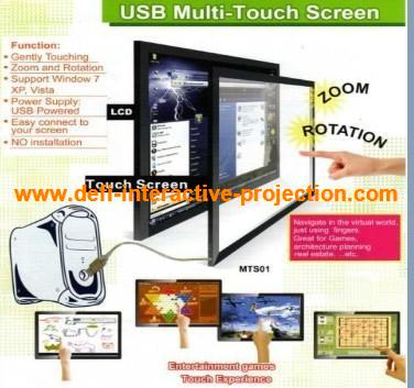 "Low-cost, 46"" High Definition IR touch screen frame for touch panel, LCD and monitor for touch table, kiosk etc(China (Mainland))"