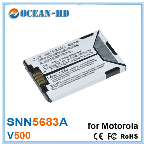 SNN5683A 3.6v Lipo Battery For Motorola v600 E680 E680i E680g A630 A728 A780 A768 A760 V300 V400 V500 V501 V525 v547 V551(China (Mainland))