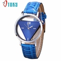OTOKY Womens Unique Hollowed out Triangular Dial Fashion wrist watches for women relogio relojes mujer 30