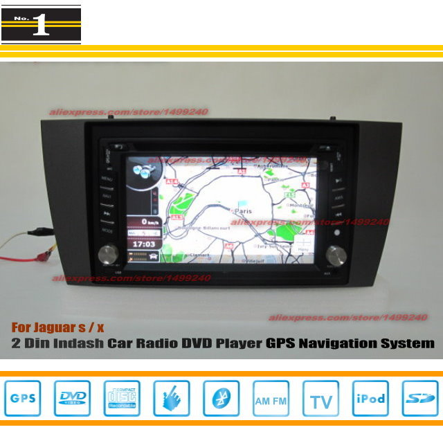 For JAGUAR X-Type X Type 2001~2011 - Car Radio Stereo CD DVD Player / HD Touch Screen Audio Video GPS Navigation System(China (Mainland))