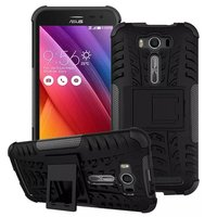For Asus Zenfone 2 ZE500KL 5.0'' Armor Heavy Duty Hard Cover Case,for Asus ZE500KL Tire Style 2 in 1 Stand Case