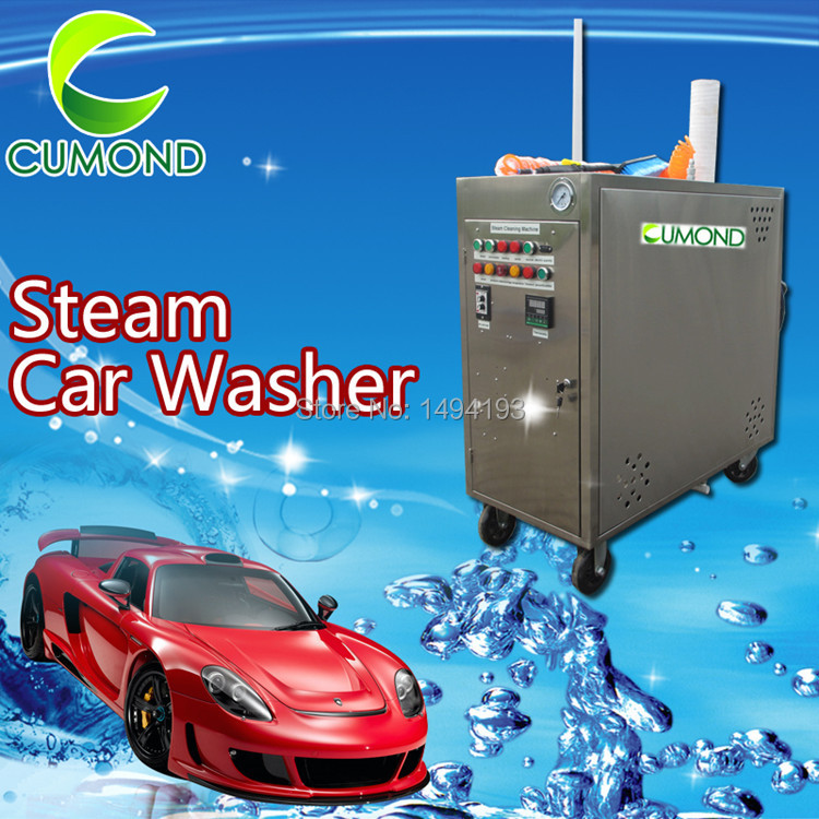 China sale 2 steams guns Portable automatic LPG mobile steam micro-water car washer/adjustable steam humidity car wash equipment(China (Mainland))