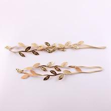 Hot Sale New Fashion Mon and me leaves gilt Flower Hair Bands Headband Hair Accessory Headwear(China (Mainland))