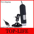 USB Digital 25X 600X LED Jewelry Textile Skin Magnifier Microscope Endoscope New