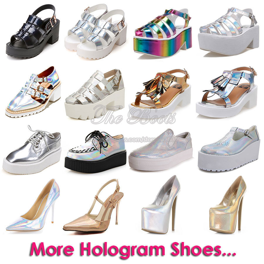 Silver 2 Inch High Heels