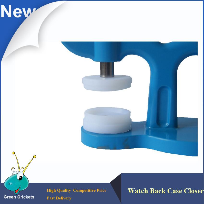 Бесплатная доставка Часы Задняя крышка Пресс-Пластиковый Корпус Кристалл Пресс Место 18 мм ~ 36 мм, Кристалл Пресс-Кит набор для Часовщик