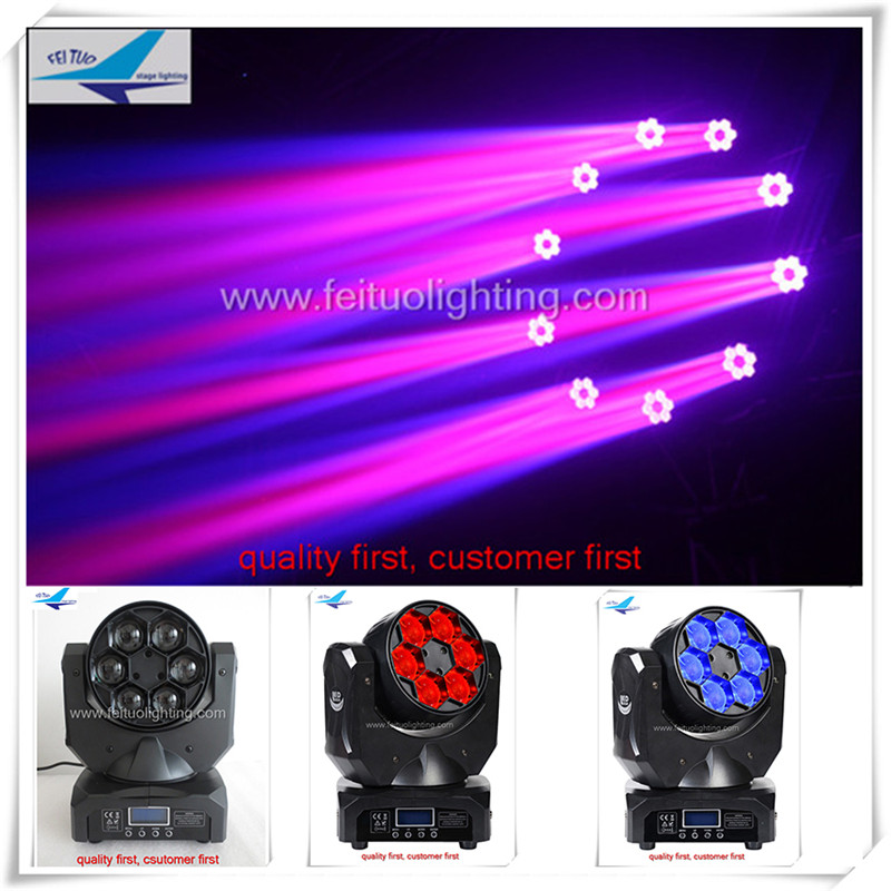 (20/lot)2016 new products stage light mini moving head light 6x15w rgbw 4in1 b eye led moving head(China (Mainland))