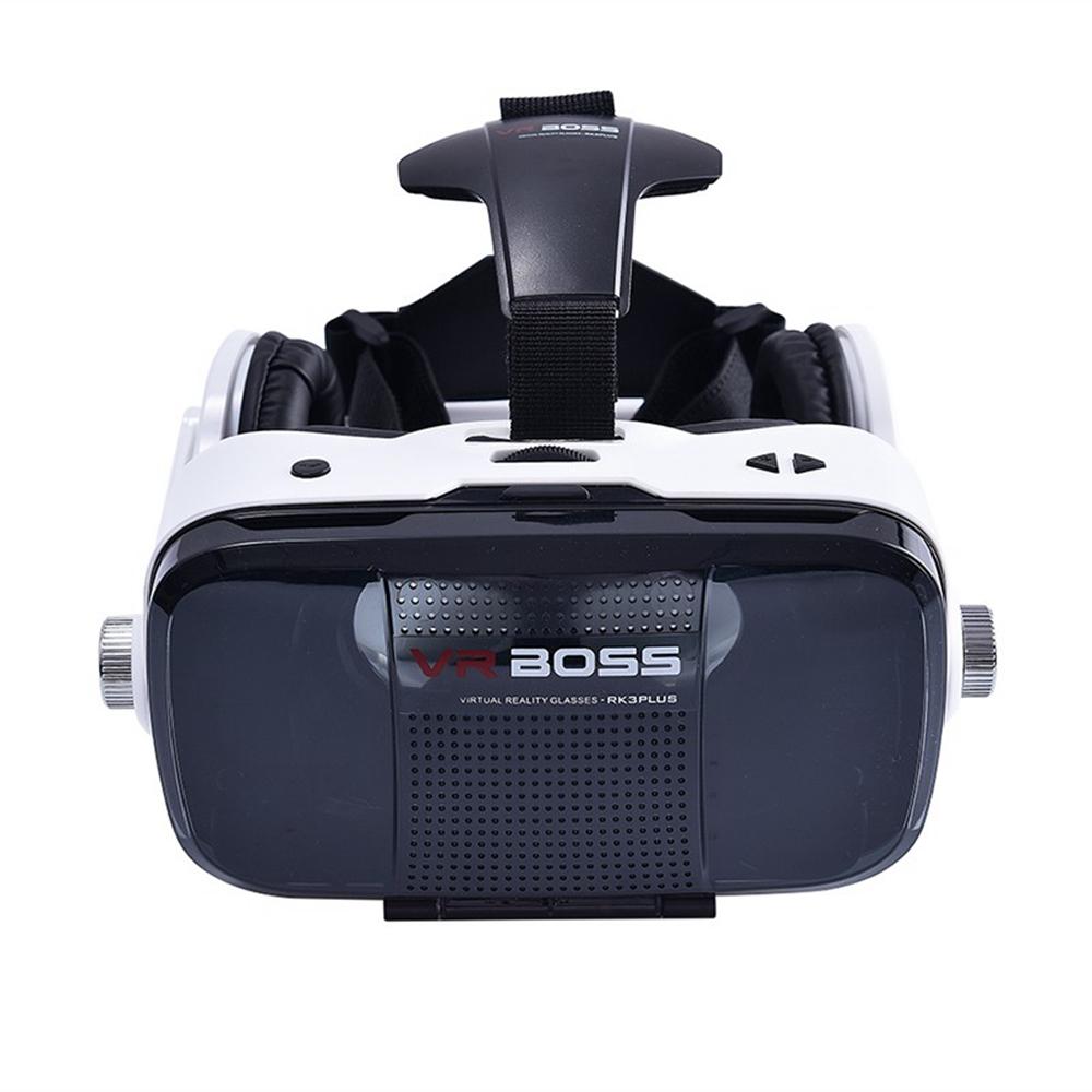 ถูก 120องศา3d vrกล่องกรณีที่สมจริงแว่นตาความจริงเสมือนเกมภาพยนตร์googleกระดาษแข็งสำหรับ4.0-6.3 ios samsung htcมาร์ทโฟน
