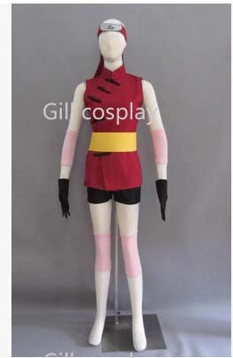 Free shipping--THE LAST -NARUTO Haruno Sakura Cosplay Costume(China (Mainland))