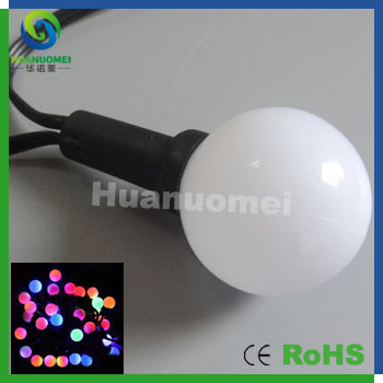 Dynamic color led ball Christmas light fairy decoration string lamp waterproof drive UC1903 IC programmable(China (Mainland))