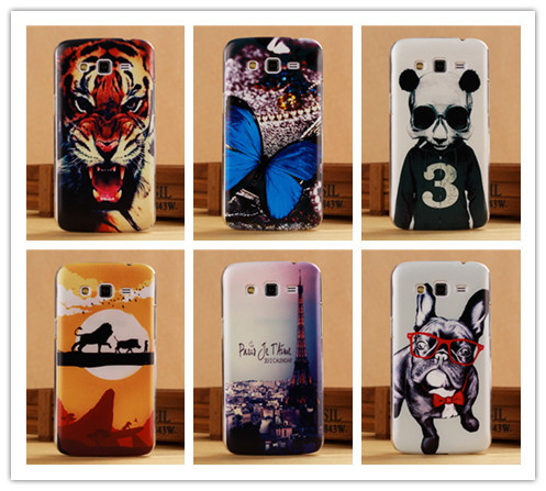 Pattern Cover Hard Case Samsung Galaxy Grand 2 G7106 Protection Back Cases PY - SGP Hybrid Official Store store