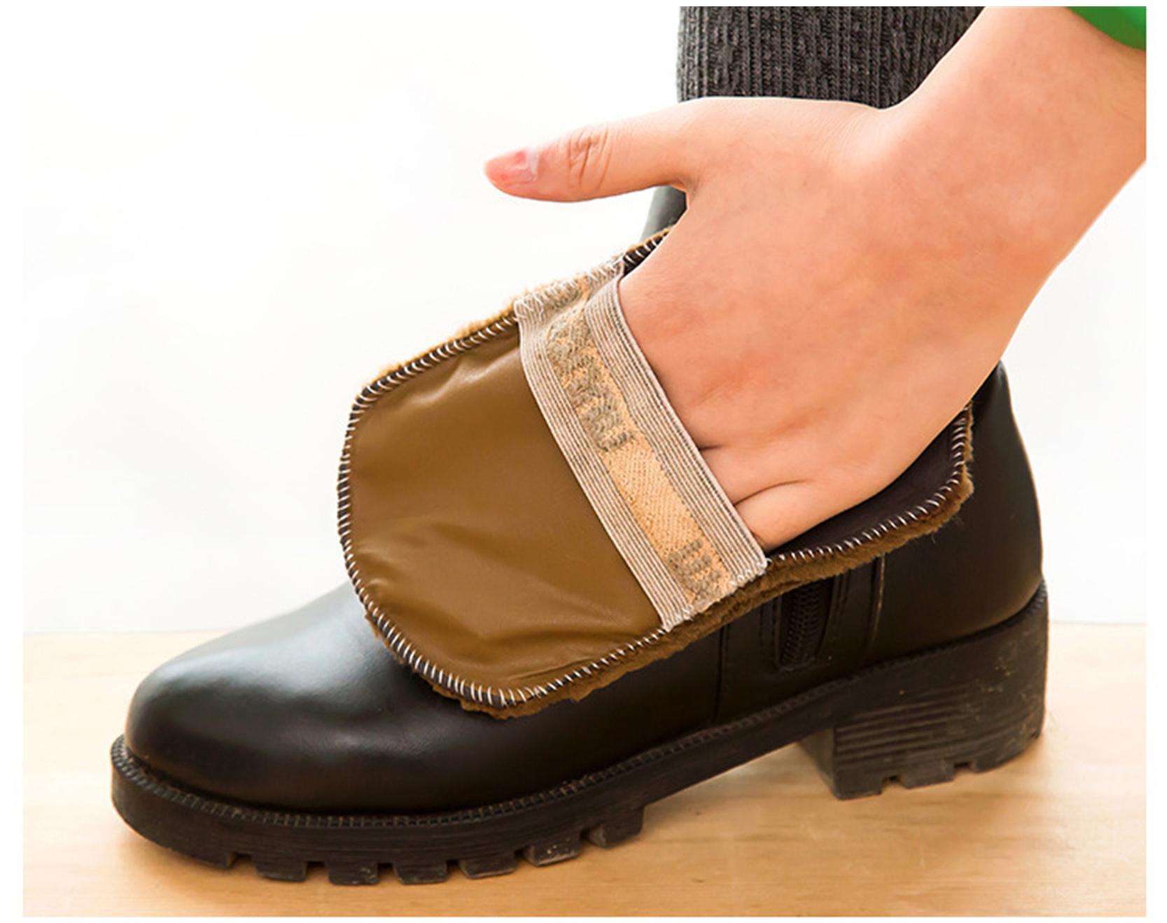 Hot Sale shoe Brush Polish Hair Polisher Polishing Glove Special Cloth for Leather Shoes Bags Equipment Shoe Polisher(China (Mainland))