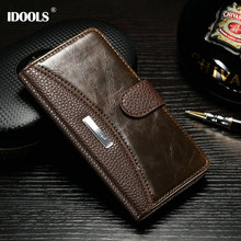 Buy IDOOLS Brand Luxury Vintage PU Leather Case Sony Xperia M4 Aqua E2303 E2353 E2333 Cover Wallet Stand Fashion LOGO for $8.24 in AliExpress store
