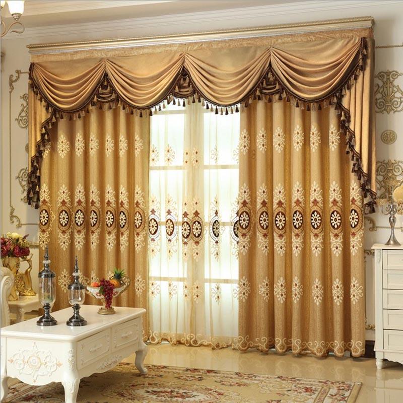Rideaux de luxe promotion achetez des rideaux de luxe promotionnels sur aliex - Rideaux pour salon moderne ...