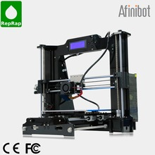 2015 Afinibot Upgraded Quality High Precision Reprap Prusa i3 DIY 3d Printer kit with 2 Rolls Filament 8GB SD card and LCD