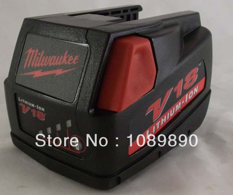 4X Milwaukee Used 18v Lithium-Ion Battery V18 power tool A+++++ - Shenzhen siyuan energy technology co., LTD store